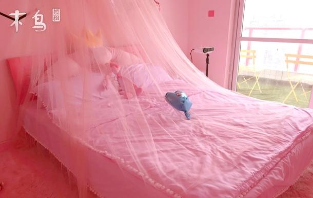 春熙路 熊猫基地 东郊记忆粉色系大床房