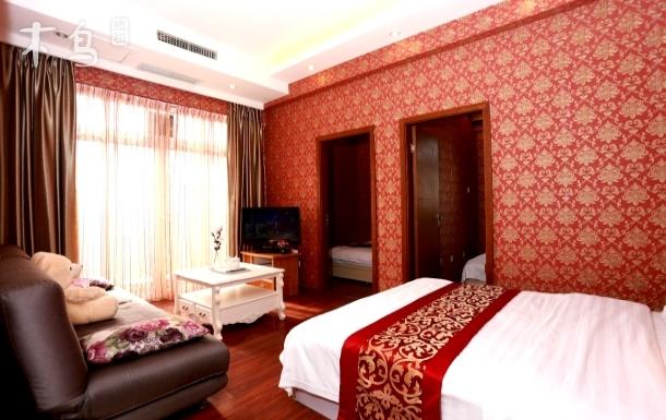天府广场春熙路两室一厅三床家庭套房