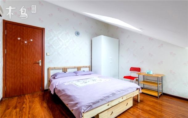 北京南站 南苑机场地铁4号线新宫站精装大床房