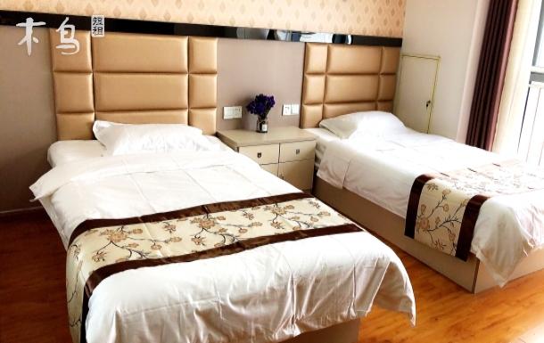 高铁站精装公寓双床房