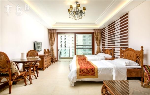 三亚湾海上时光双床房