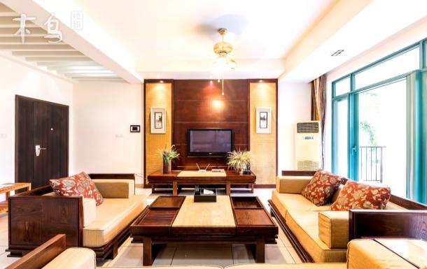 亚龙湾浪漫雨林一卧室一厅纱幔度假套房