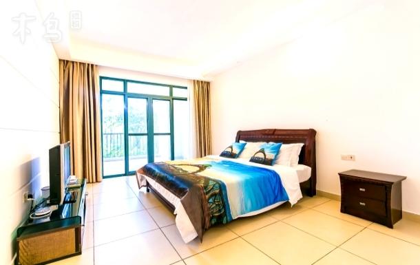 亚龙湾豪华园景二卧室一厅度假套房