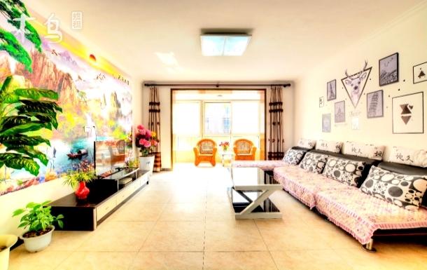 紧邻鸽子窝刘庄夜市近海公寓 三室两厅双卫套房