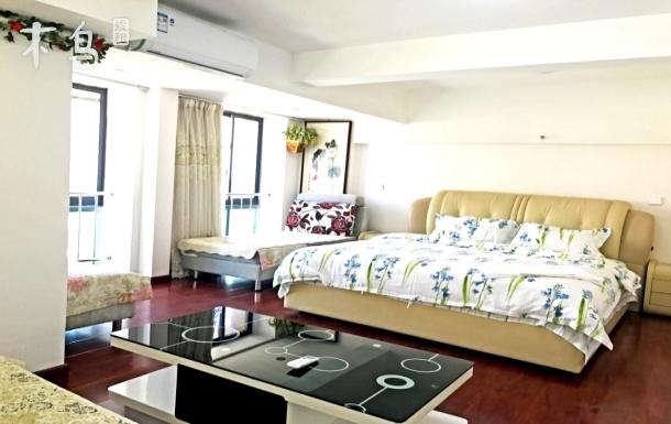 海上公园LOFT观海豪华双床公寓