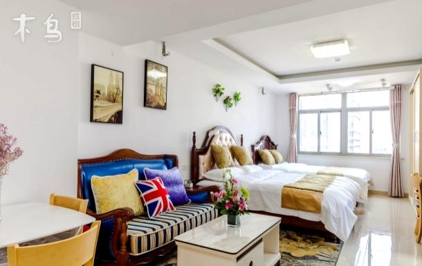 山塘街石路近火车站拙政园有品家一室-缇美景舍一居室