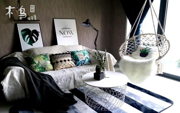 【寒舍·植绿】太古里春熙路复古浪漫大床房