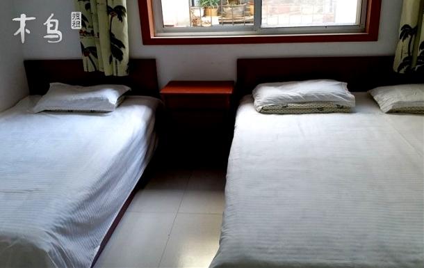 仙螺岛海边农家乐温馨双床房