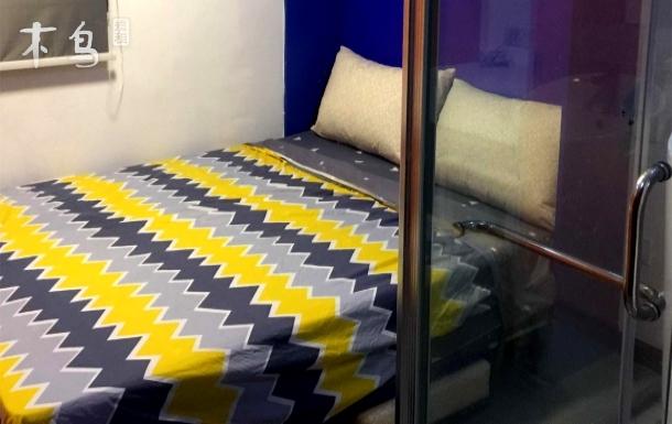 汉口中心 大智路舒适小公寓 麋鹿22号大床房