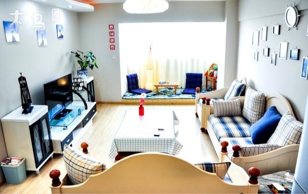 【有客·清欢渡】清新舒适/地中海客厅/西山公园滇池/翠湖小西门/近地铁站