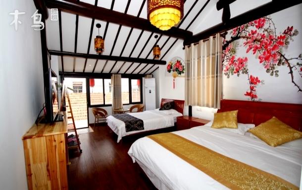 周庄景区阳光家庭房温馨双床房