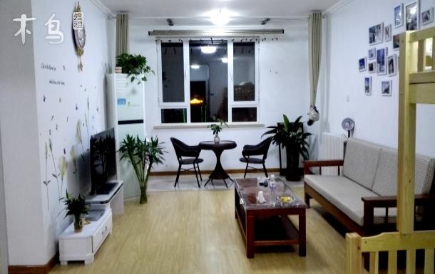 火车站附近套二厅可做饭度假公寓