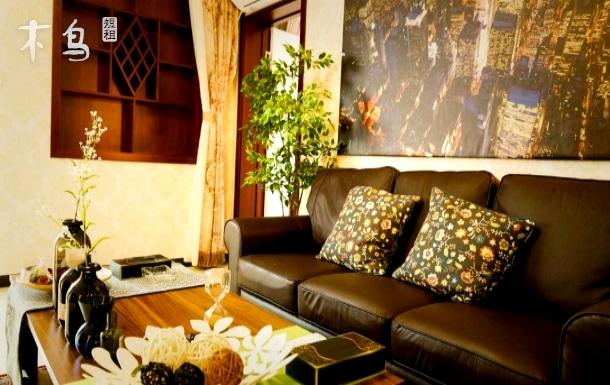 沈馨公寓温馨两居室端午预订送3张打铁花3张龙庆峡门票