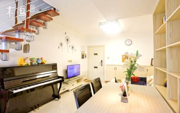 玖宫阁·昙华林LOFT复式钢琴小屋·2/7号双地铁