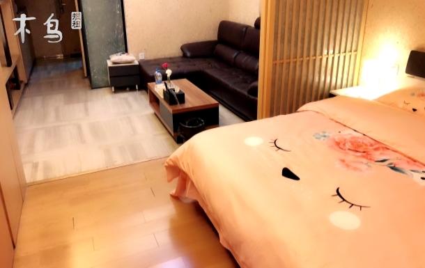 紧邻锦里  一室 日式精装大床房