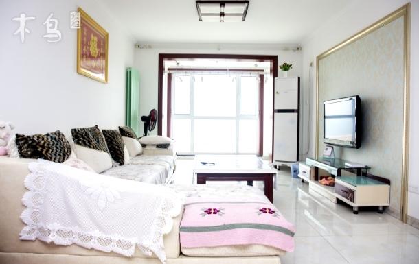 金沙滩海景房,在家可以看海的两居室