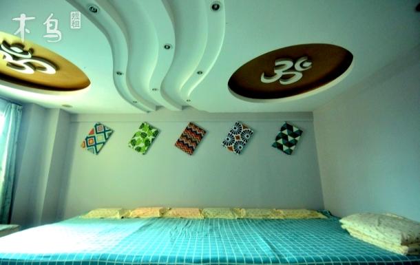 奥帆附近花舍怡情,核心城区四室一厅loft,设备齐全玩得开心!