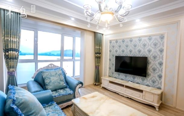 金沙滩银沙滩海景度假三居室