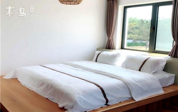 威海影视城国际海水浴场露台大床房