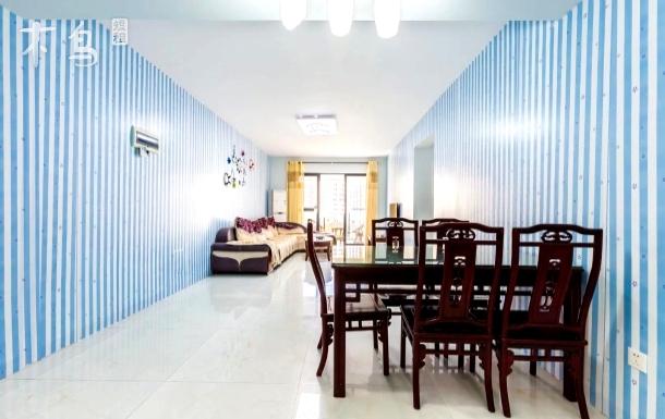 大东海超大舒适三房两厅套房(距海50米)