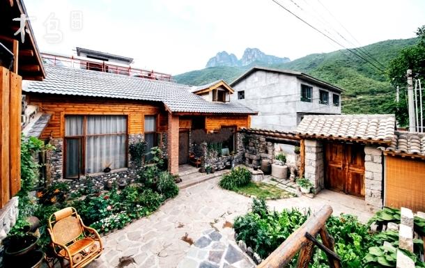 灵山自然风景区独栋木屋小院