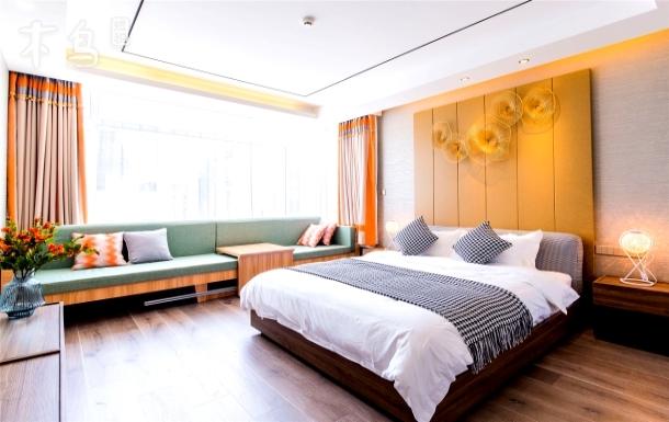 上海迪士尼度假区一室枝黄大床房