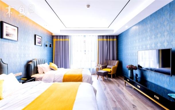 上海迪士尼度假区一室黛蓝家庭房