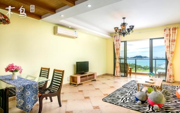 美丽新海岸海天一色豪华全海景两房一厅