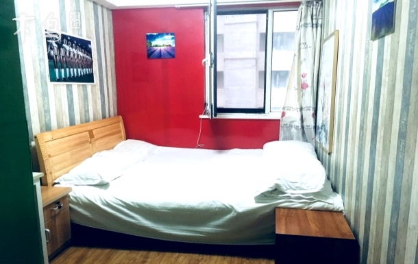 北街家园五区温馨大床房