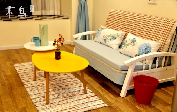 东站/川师温馨跃层公寓,适合全家出行 两居室