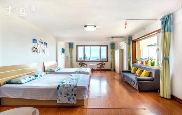 国际海水浴场海景一居室