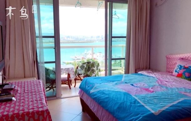 两室躺床看凤凰岛一览无遗