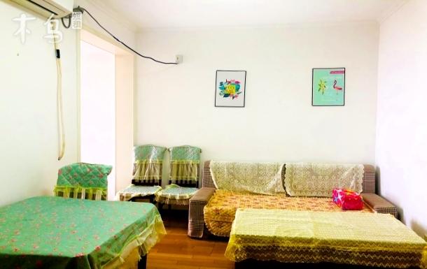 青岛金沙滩烟台前纯海景房一居室