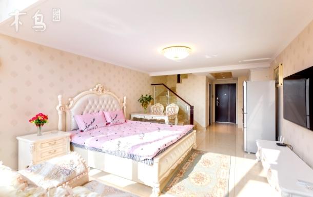 高级豪华复式欧式双床家庭房