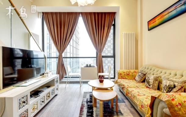 五河交汇 地铁旁 5A智能公寓 观景房一居