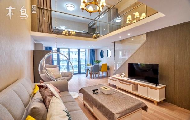 火车东站旁精装loft智能高级公寓绿城物业公交车