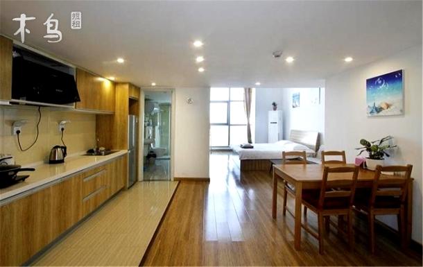 乐天双子星温馨双空调复式多人度假公寓