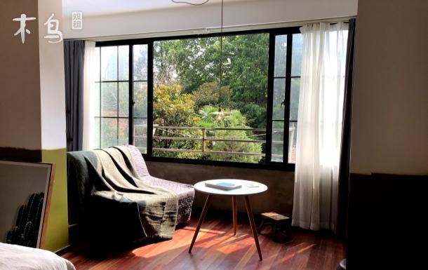 近1/7/9号线 梧桐树下的绝美窗景 衡复文化区老公寓