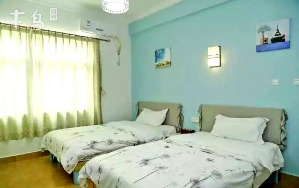 龙岗区 大鹏古城 大鹏度假区 标准双床房