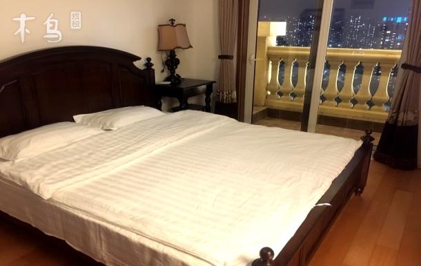 青岛印象金沙滩浪漫夜景一居室