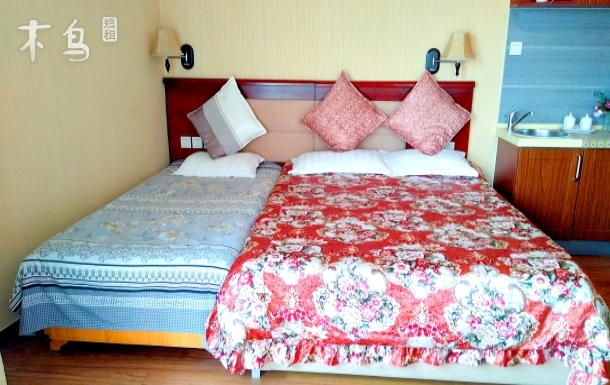 倚海45℃度近海精装修一室公寓