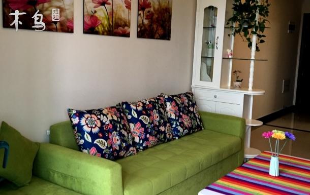 青橙豪华海景房温馨两居室
