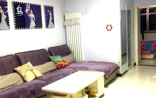 市中心医院对面紧邻二仙居步行街两室一厅大床房