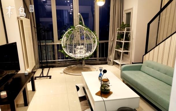 绿地中央广场优雅风情屋两居室
