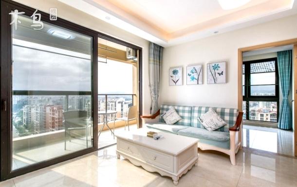 【近红树林】近动车站高层现代风简约泳池两居室