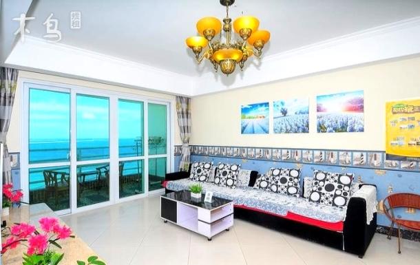 三亚蓝海港湾度假公寓 独立四室两厅豪华海景高层套房