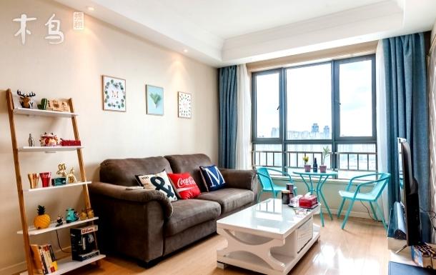 天津海河摩天轮古文化街两室两卫景观套房