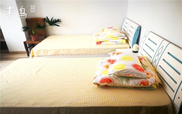 临海凤凰岛旁温馨双床阳光房