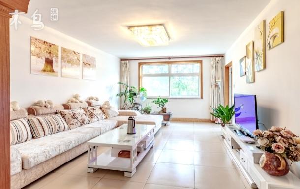 海滨森林景区内温馨3居室家庭公寓