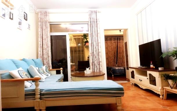 杨柳西路 银滩小区 北欧风民宿 一居室
